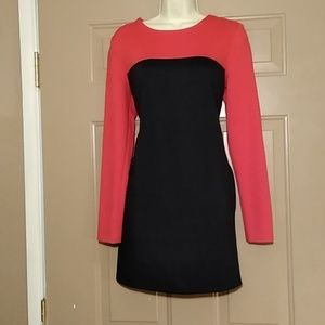 LIKE NEW MICHAEL KORS BLK & RED DRESS-SIZE 4